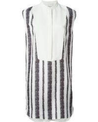 3.1 Phillip Lim Crepe Blouse Dress - Lyst