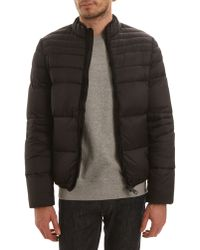 Schott Nyc Blister Black Feather Down Jacket - Lyst