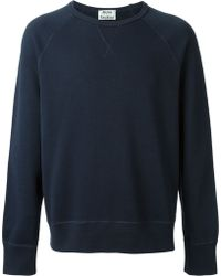Acne Studios College Sweatshirt - Lyst