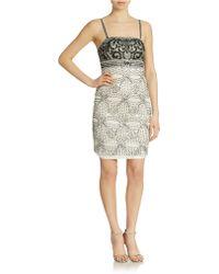 Sue Wong Embellished Sleeveless Dress - Lyst