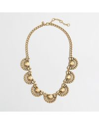 J.Crew Factory Crystal Domes Necklace - Lyst
