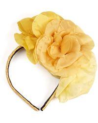 Benoit Missolin - Claudia Floral-Embellished Headband - Lyst