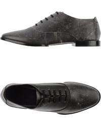 Alexander Wang Laceup Shoes - Lyst