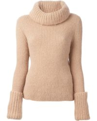 Ermanno Scervino Roll Neck Sweater - Lyst
