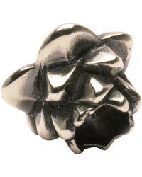 Trollbeads - 'lotus' Silver Bead - Lyst