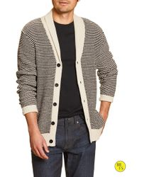 Banana Republic Factory Shawl-Collar Cardigan - Lyst