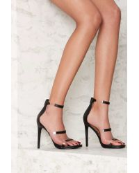 4d94057a1f1 Nasty Gal - Fit To Thrill Strappy Heel - Lyst