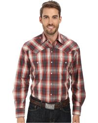 Stetson Line Plaid Flat Weave Y/D W/ Satin - Red