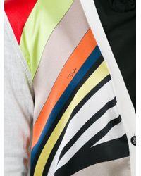 Emilio Pucci - Printed Panel Cardigan - Lyst