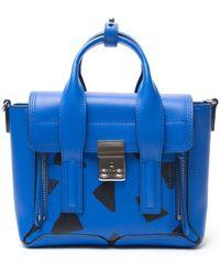3.1 Phillip Lim Mini 'Pashli' Satchel blue - Lyst
