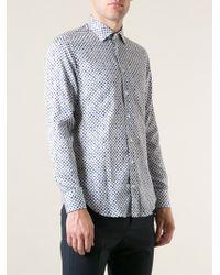 Etro Mini Print Shirt - Lyst