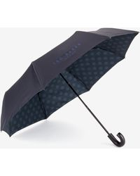 Ted Baker Compact Spotted Print Umbrella - Blue