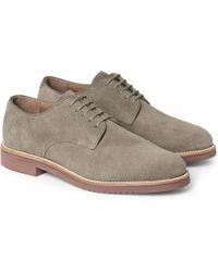 J.Crew | Kenton Suede Derby Shoes | Lyst