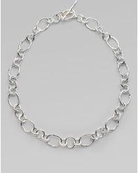 Ippolita Glamazon Sterling Silver Chain Necklace - Metallic