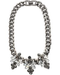 Mawi - Hematite Plated Necklace - Lyst