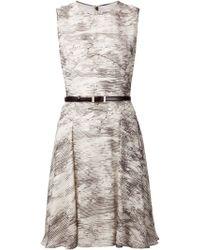Jason Wu Printed A-Line Dress - Lyst