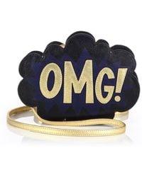 Rebecca Minkoff Omg! Speech Bubble Crossbody Bag black - Lyst