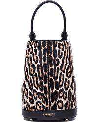 Burberry Prorsum - Animal Print Bucket Bag - Lyst