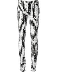 Balenciaga Black Skinny Trousers - Lyst