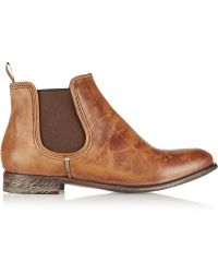 NDC San Carlos Tie-Dyed Leather Ankle Boots - Lyst