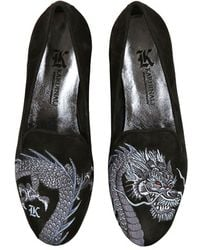 Kardinale - 10mm Suede Dragon Loafers - Lyst