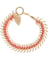 Lizzie Fortunato Jewels Gold Scale Bracelet - Lyst