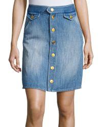 Étoile Isabel Marant   Odelle Skirt Blue   Lyst