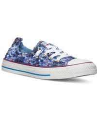 Converse Chuck Taylor Shoreline Floral Casual Sneakers From Finish Line - Lyst