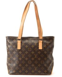 Louis Vuitton Brown Tote Bag brown - Lyst