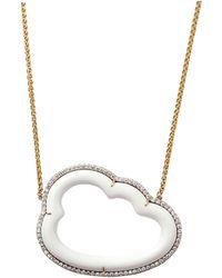 Pamela Huizenga - Large Silver Linings Necklace - Lyst
