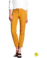Banana Republic Factory Sloan Fit Slim Ankle Pant   - Lyst