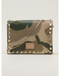 Valentino - Military Clutch - Lyst