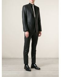 Dolce & Gabbana Gray Pinstripe Suit - Lyst