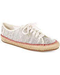 Aerin Norumbege Striped Mesh Shoes
