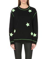 Nicopanda - Glow-in-the-dark Cotton-jersey Sweatshirt - Lyst