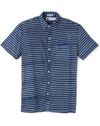 Industry of All Nations - Madras Batik Stripes Shirt - Lyst