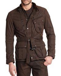 Ralph Lauren Black Label Four-Pocket Pilot Jacket - Lyst