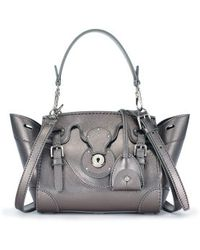 Ralph Lauren Metallic Mini Ricky Crossbody - Lyst