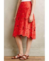 Cynthia Rowley | Lace Bouquet Skirt | Lyst