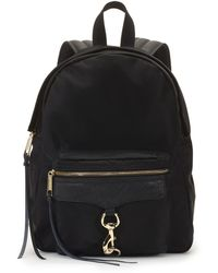 Rebecca Minkoff Nylon M.A.B. Backpack black - Lyst