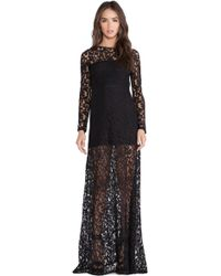 Boulee Rachel Maxi Dress - Lyst