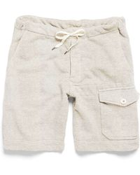 Todd Snyder X Champion | Thorpe Gym Short In Eggshell Mix | Lyst