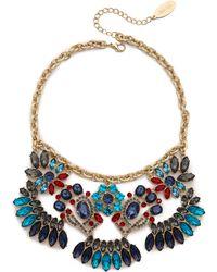 Adia Kibur Jewel Statement Necklace - Multi - Lyst