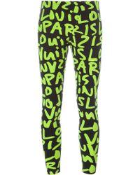 Louis Vuitton Stephen Sprouse Graffiti Leggings - Black
