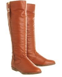 Office Nautical Knee Boot - Lyst