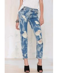 Nasty Gal The Laundry Room California Bad Boys Boyfriend Jeans - Lyst