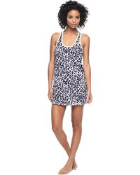 Juicy Couture   animal Inky Leopard Knit Nightie   Lyst