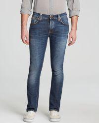 Nudie Jeans . Jeans - Grim Tim Slim Fit In Foggy Dust - Lyst