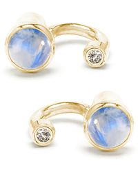 Pamela Love Exclusive Gravitation Earrings With Moonstone - Lyst