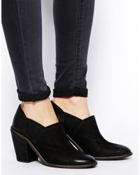 Asos Eliza Leather Chelsea Ankle Boots - Lyst